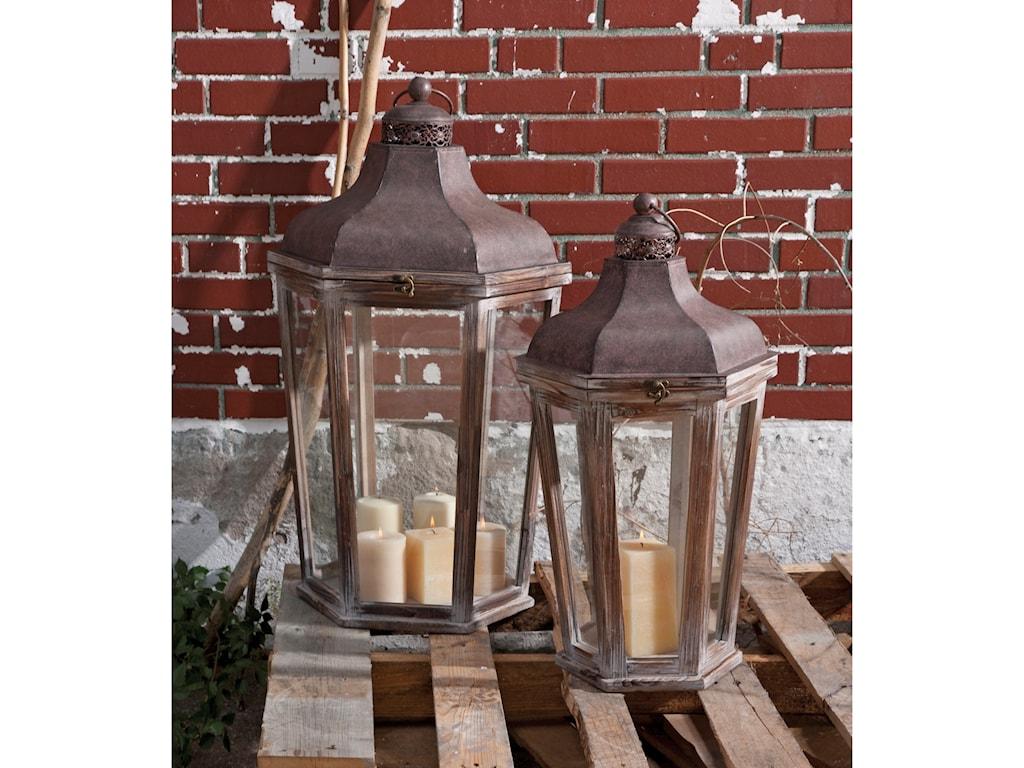 IMAX Worldwide Home Candle Holders and LanternsLayla Oversized Lanterns - Set of 2