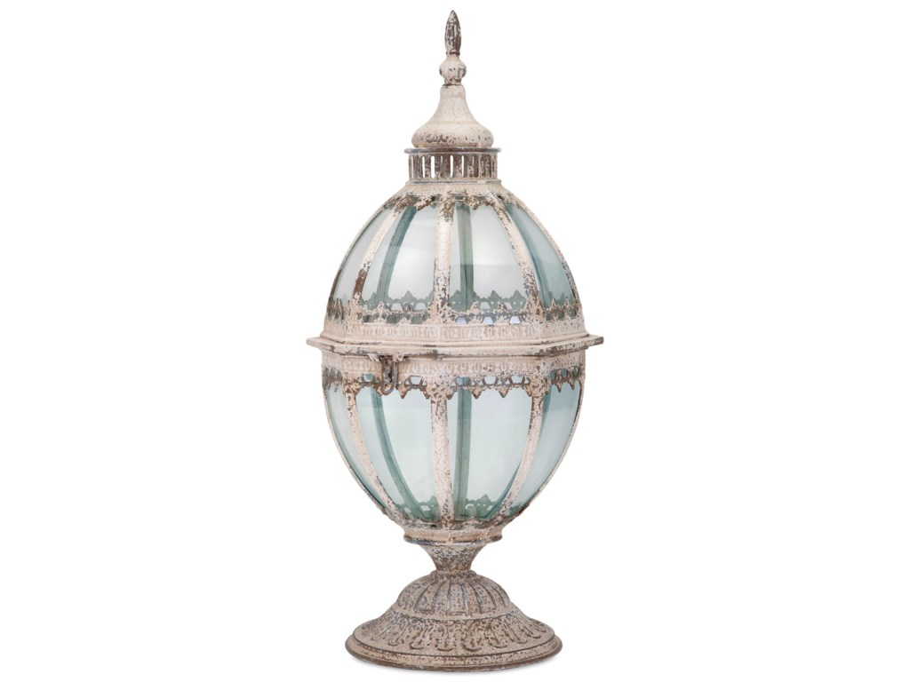 IMAX Worldwide Home Candle Holders and LanternsLaurel Metal and Glass Lantern