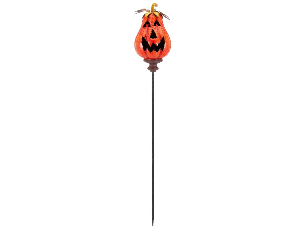 IMAX Worldwide Home Candle Holders and LanternsJackson Jack O Lantern Orange Stake