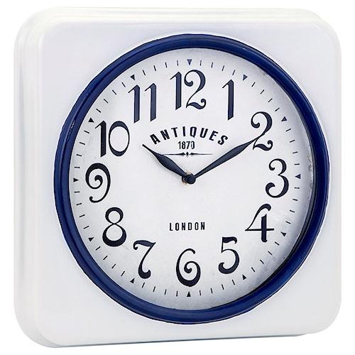 Imax worldwide home clocks greensboro wall clock aladdin home imax worldwide home clocks greensboro wall clock gumiabroncs Gallery