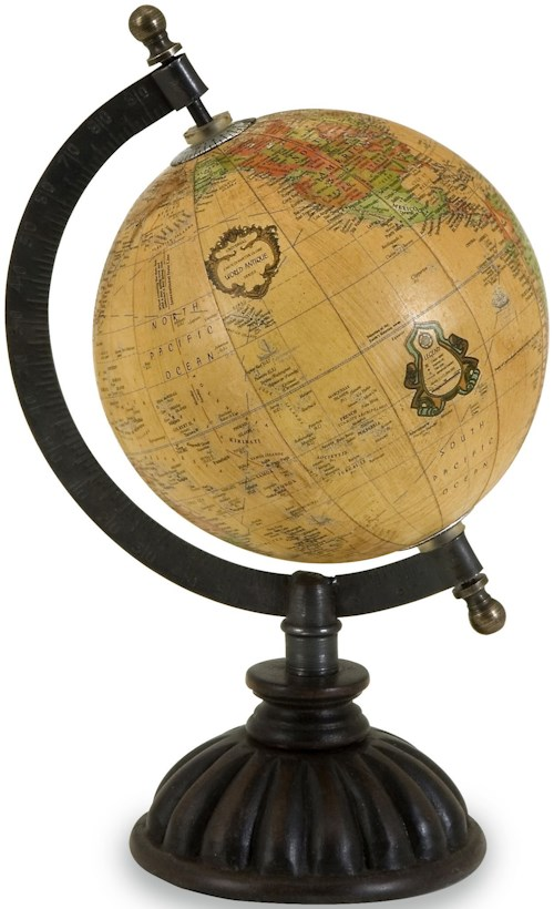 IMAX Worldwide Home Decorative Figurines Colony Globe