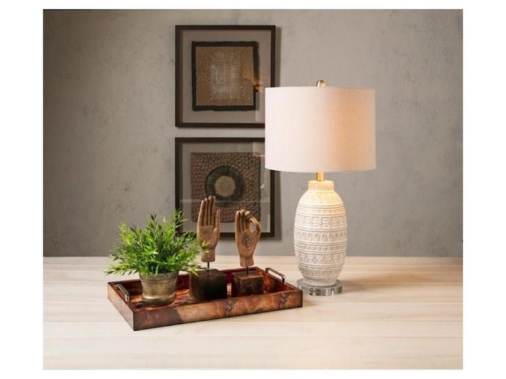 IMAX Worldwide Home LampsAddonis Ceramic Table Lamp