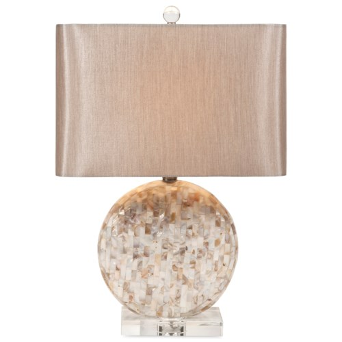 Imax worldwide home lighting whitney mother of pearl lamp