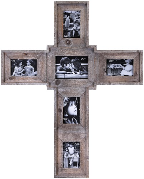 IMAX Worldwide Home Picture Frames Cross Family Wall Frame