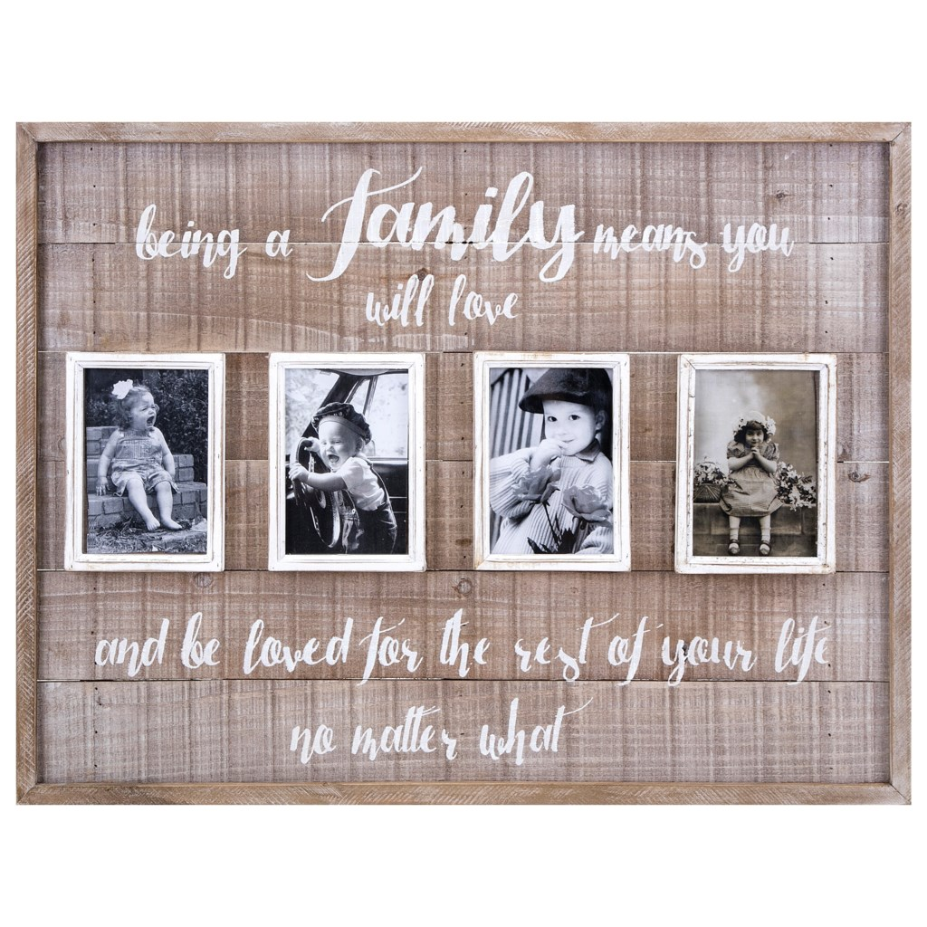 Imax Worldwide Home Picture Frames Family Collage Wall Frame