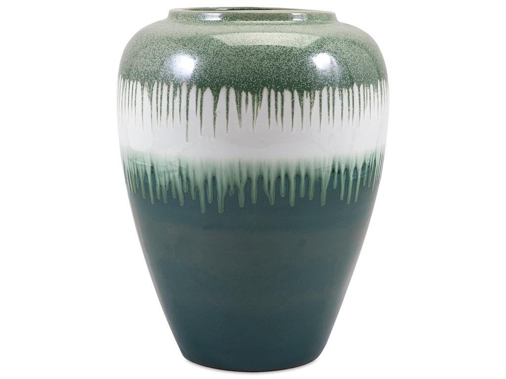 IMAX Worldwide Home Trisha YearwoodPersimmon Oversized Vase