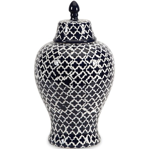 Imax Worldwide Home Vases Layla Large Urn Howell Furniture Vases