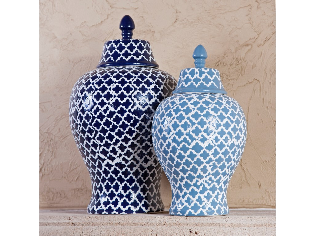 IMAX Worldwide Home Vases Layla Small Urn | Lagniappe Home