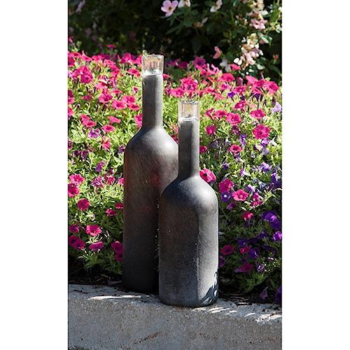 Imax Worldwide Home Vases Gordon Large Black Frosted Vase Howell