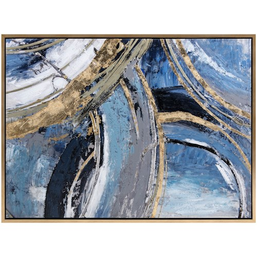 Ruka Framed Wall Decor Artwork Imax Worldwide Home
