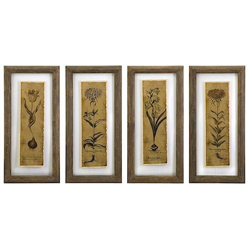 Imax worldwide home wall art cassander double glass print wall art set of 4