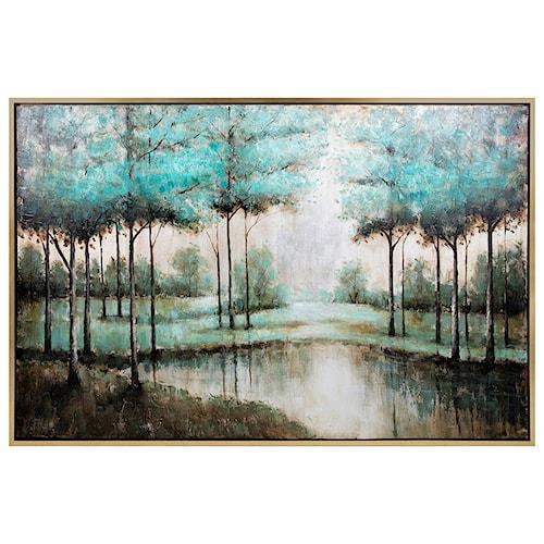 Imax worldwide home wall art verdigis wonder framed oil painting