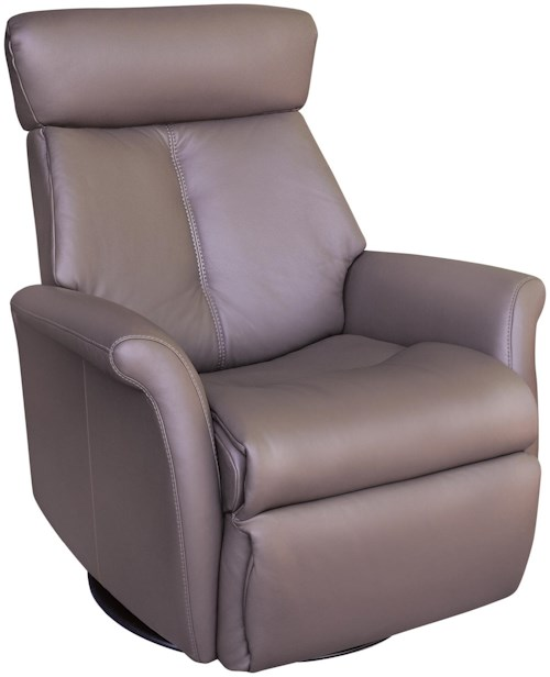 IMG Norway Recliners Modern Bella Wing Recliner Relaxer with Swivel Base