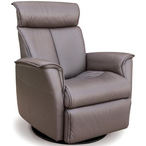 IMG Norway Recliners Modern Duke Recliner Relaxer with Power