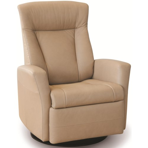 IMG Norway Recliners Modern Prince Recliner Relaxer with Swivel Glider Base