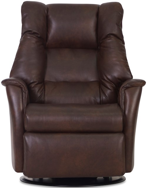 IMG Norway Recliners Modern Verona Recliner Relaxer with Swivel Base