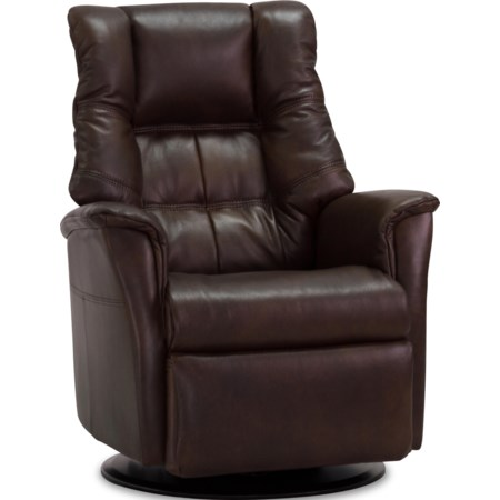 Large Power Recliner with Chaise