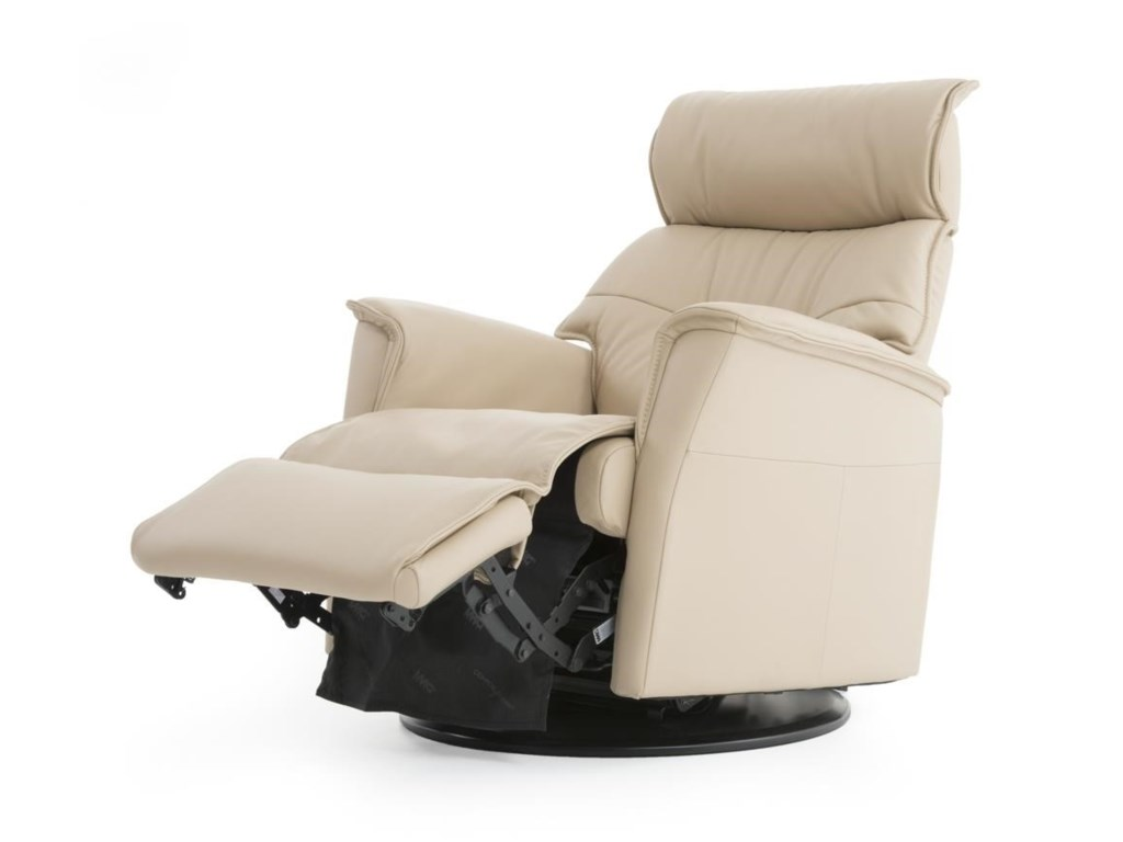 IMG Norway CaptainCompact Recliner with Chaise
