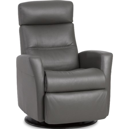 Compact Recliner with Swivel, Glide and Rock