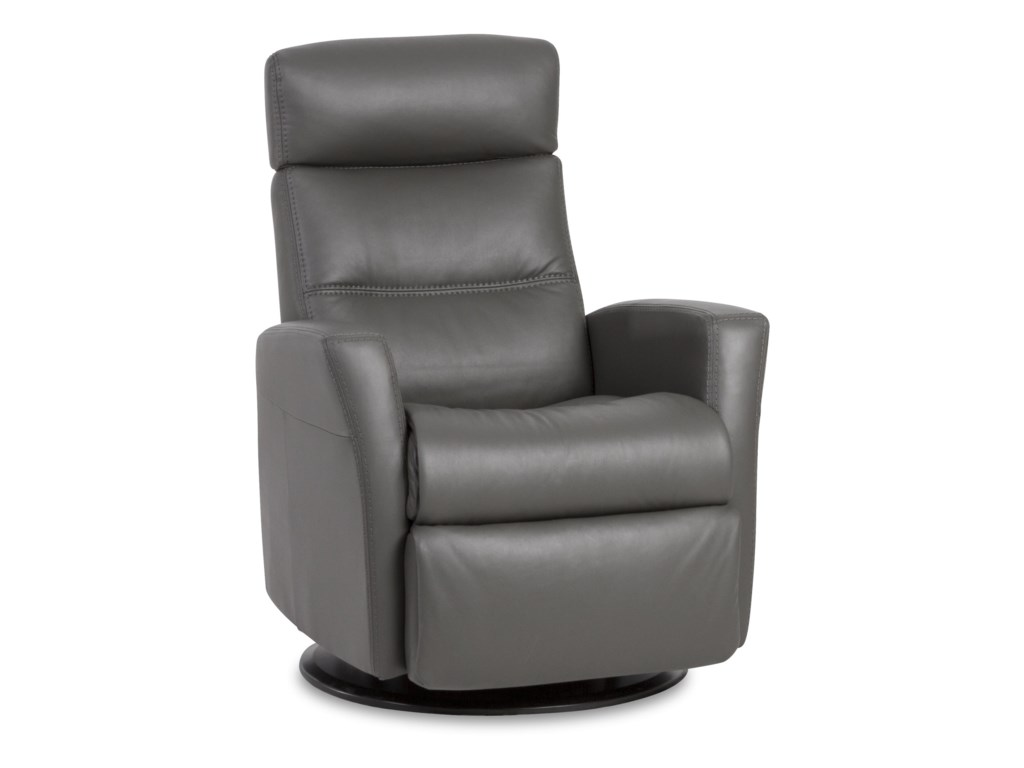 IMG Norway Divani Compact Recliner with Swivel, Glide and Rock