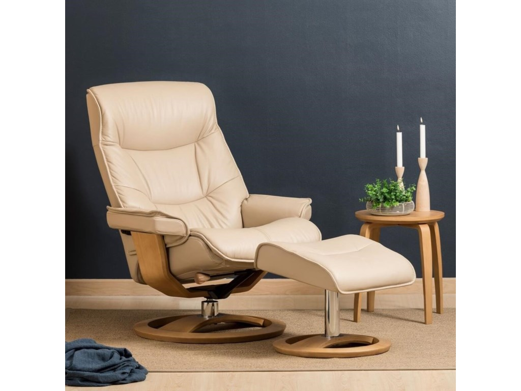 IMG Norway RegalLarge Cortina Recliner and Ottoman