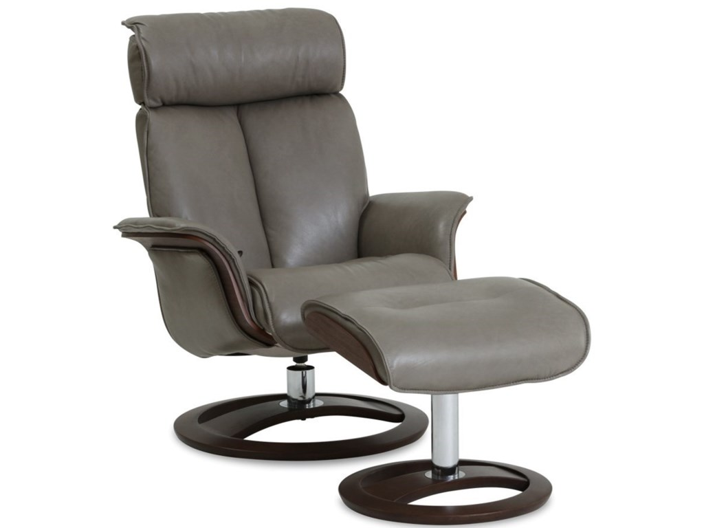 Northern Designs Eergo Tilt Recliner With Footstool