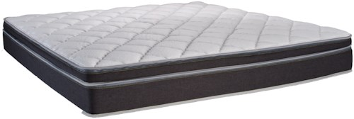 Instant Comfort Q5 King Pillow Top Dual Sleeper Mattress