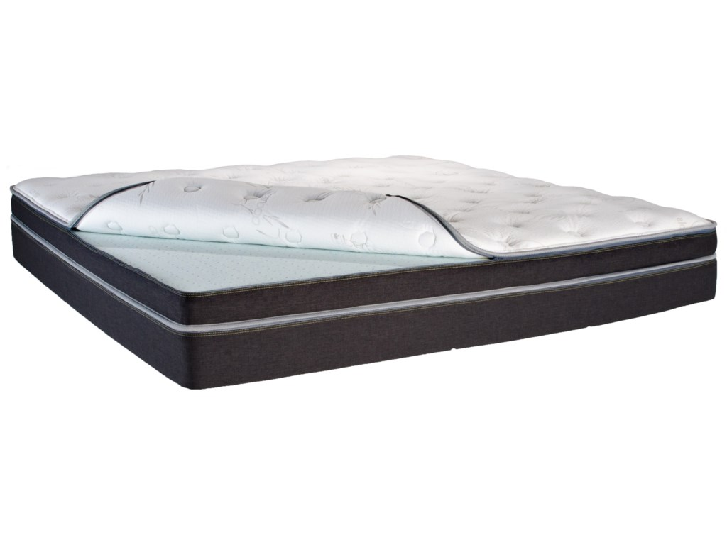 Ultimate Number Bed Ultimate Number BedKing Dual Sleeper Q8 Pillow Top Mattress