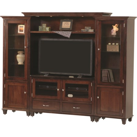Customizable Bourten Bridge Wall Unit