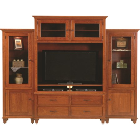 Customizable Bourten Magnum Wall Unit