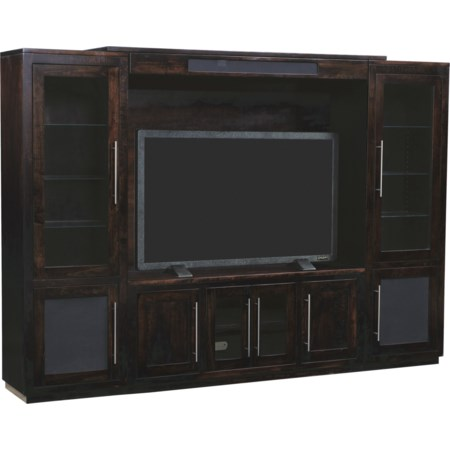 Customizable NY Bridge Wall Unit