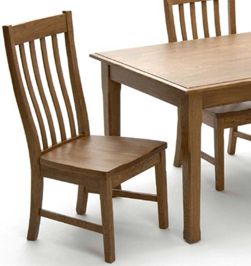 Intercon Cambridge Slat Back Dining Side Chair