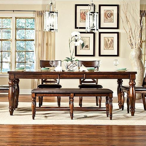 Belfort Select River Run Dining Leg Table