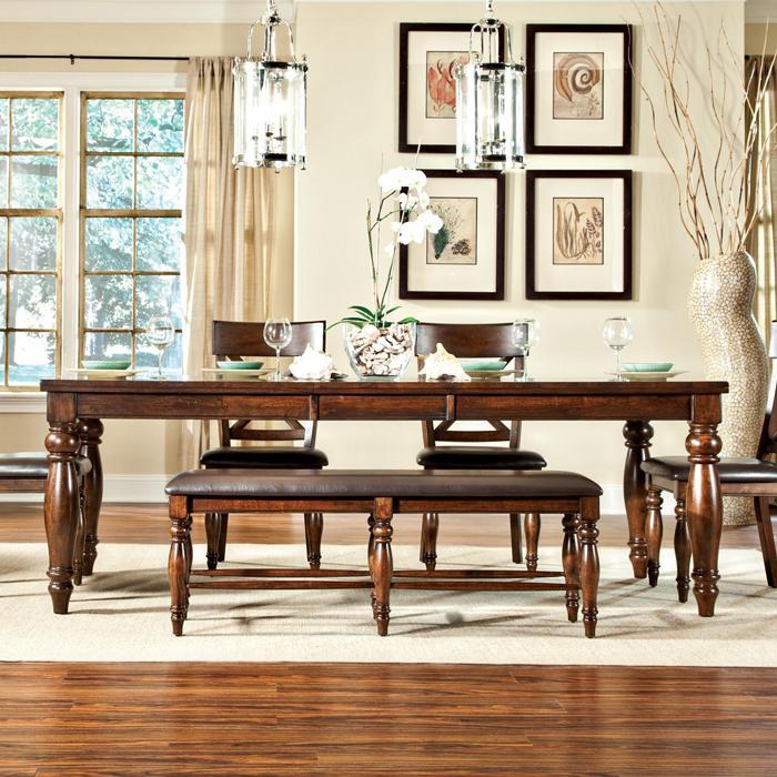 Belfort Select River Run Dining Leg Table | Belfort Furniture | Dining Room  Table