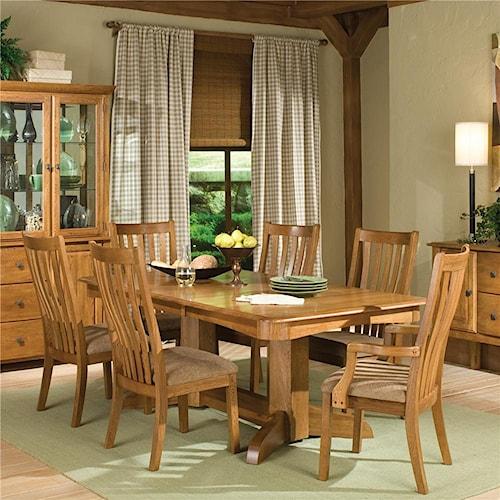 Intercon Highland Park  7Pc Dining Room