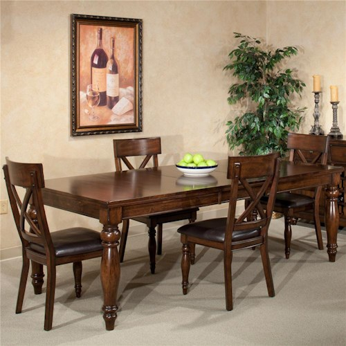 Intercon Kingston 7Pc Dining Room   Wayside Furniture   Dining 7 (or ...