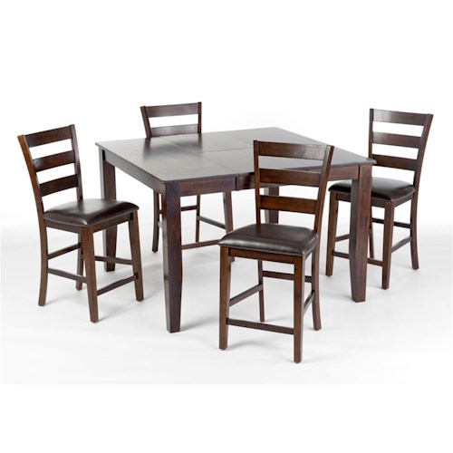 Intercon Kona 5Pc Counter Height Dintte