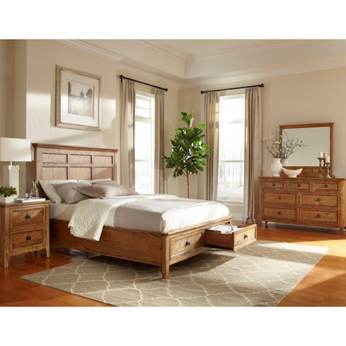 Intercon Alta King Bedroom Group