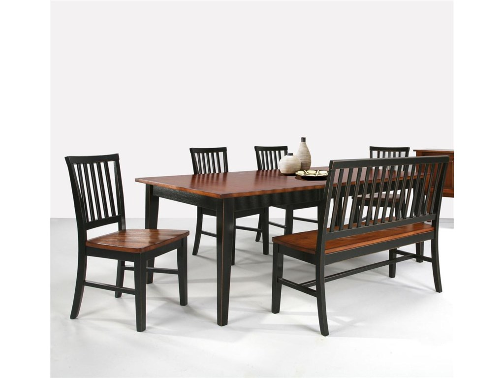 Intercon ArlingtonDining Table & Bench & Side Chairs