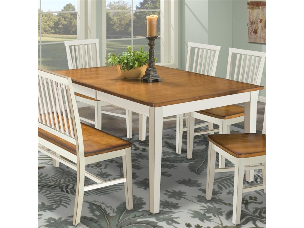 Arlington Four Leg Rectangular Dining Table By Intercon At Rife S Home Furniture