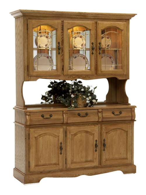 oak china cabinet intercon classic oak 60 quot china hutch with three half doors 23838
