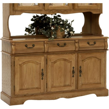 "3-Door, 3-Drawer 60"" Buffet"