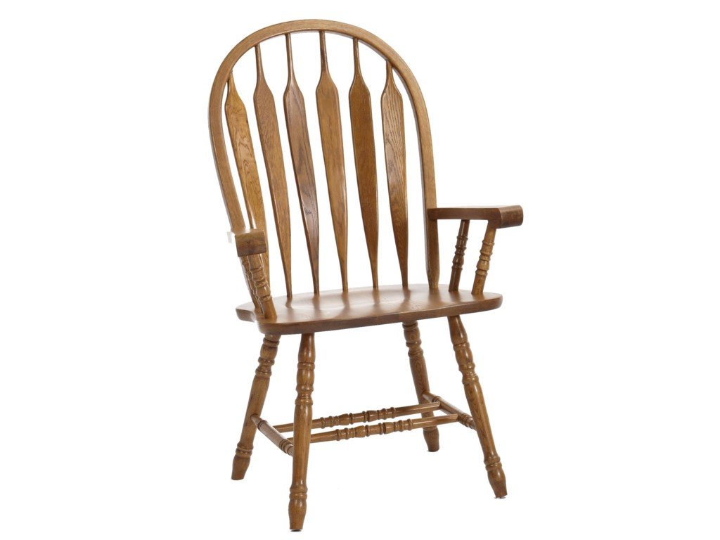 Intercon Classic OakDining Arm Chair