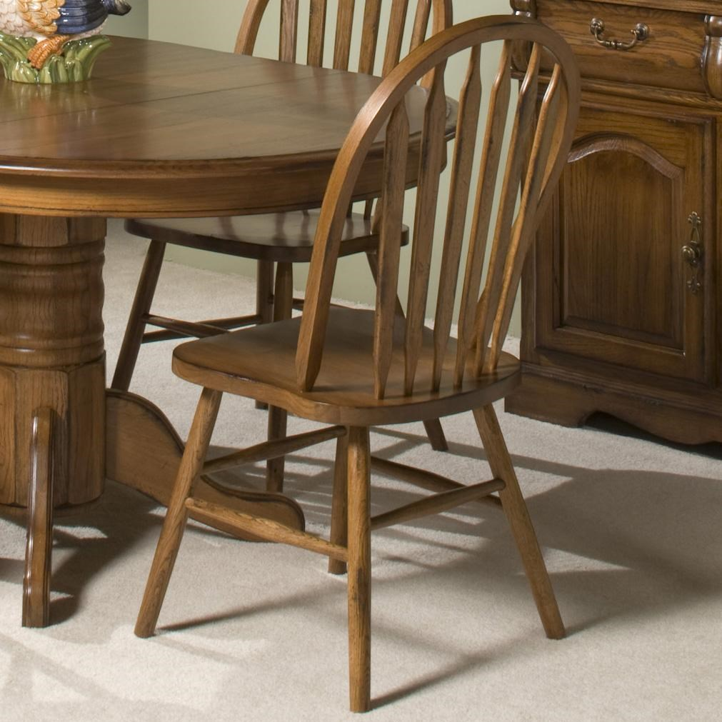 Merveilleux Intercon Classic OakDining Side Chair