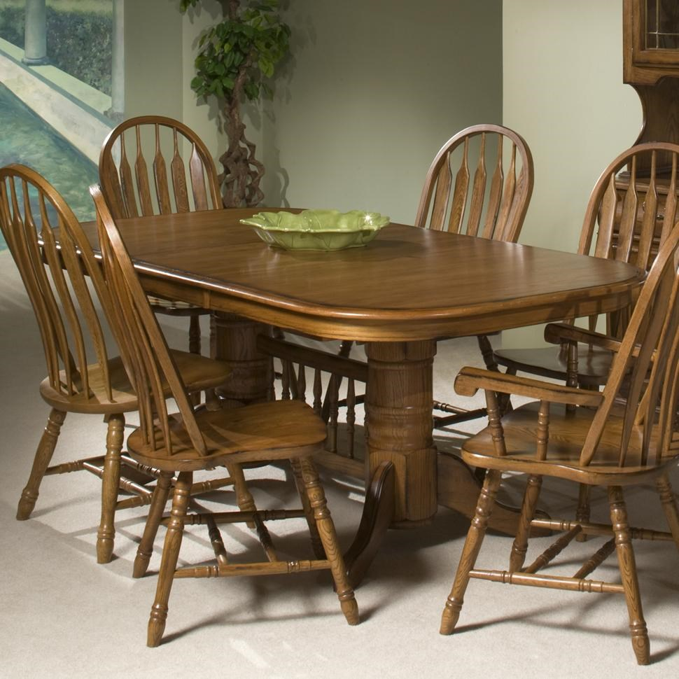 Intercon Classic OakTrestle Table ...