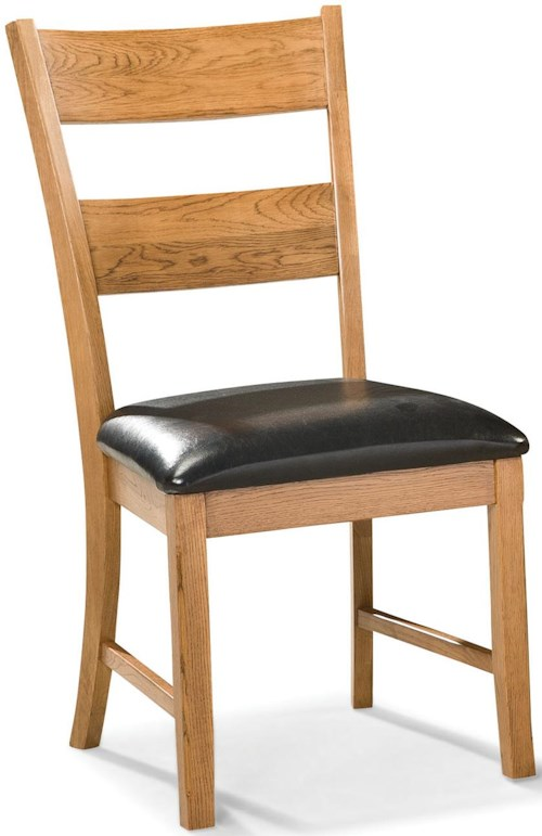 Intercon Family Dining Dining Chair with Ladder Back and Cushion