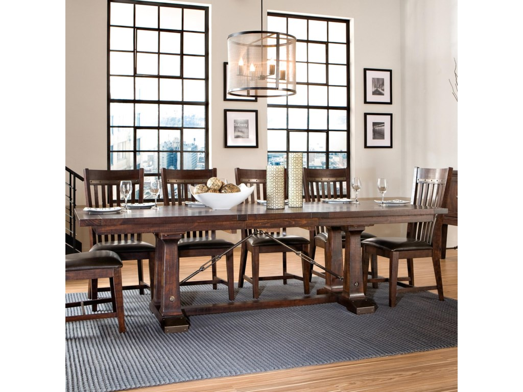Intercon HaydenTrestle Dining Table