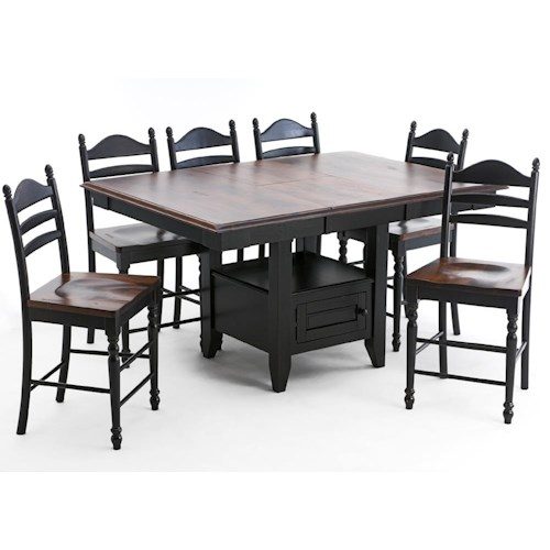 Intercon Hillside Village  Gathering Island Table
