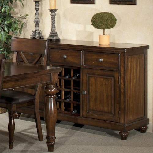 Intercon kingston 58 wine server wilson 39 s furniture serving table bellingham ferndale - Dining room server furniture ...