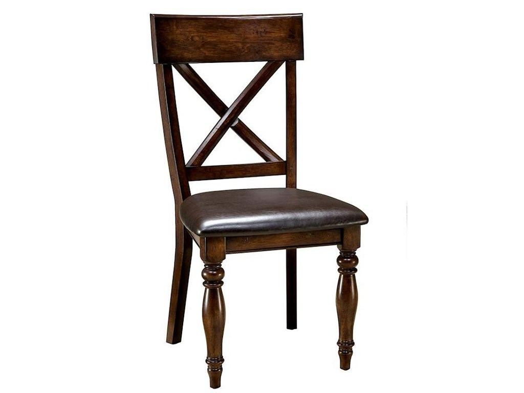 Intercon CapriceX-Back Side Chair